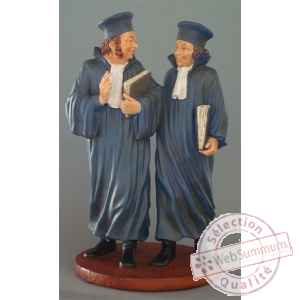 Figurine art mouseion daumier avocats 25cm  hd10 3dMouseion