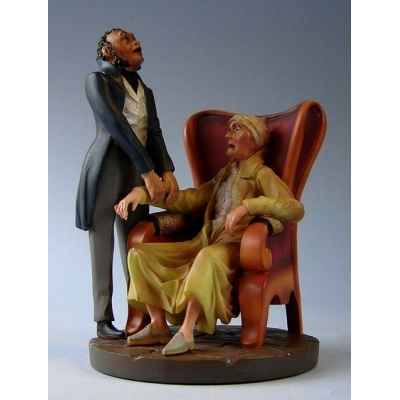 Figurine art mouseion daumier docteur hd03 3dMouseion