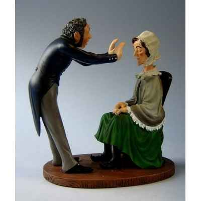 Figurine art mouseion daumier magnetiseur  hd07 3dMouseion