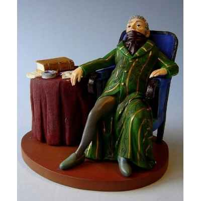 Figurine art mouseion daumier le notaire  hd05 3dMouseion