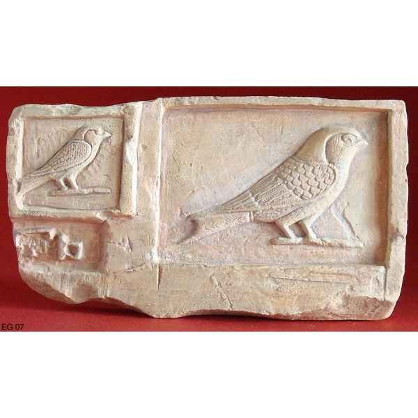 Figurine art mouseion egypt tablet swalows  eg07 3dMouseion