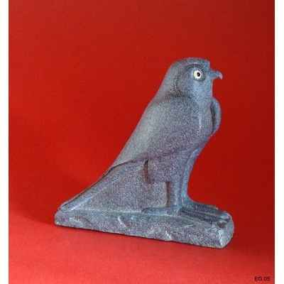 Figurine art mouseion egytian falcon  eg05 3dMouseion