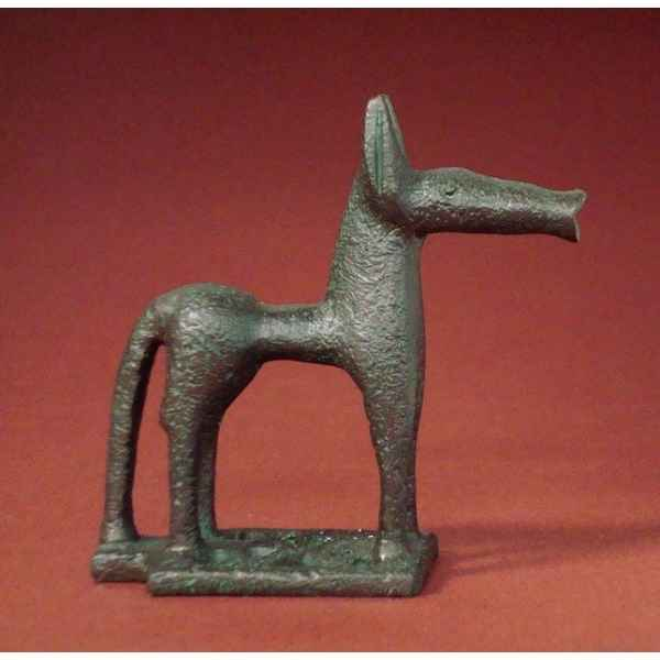 Figurine art mouseion geometric horse 8cm  gre01 3dMouseion