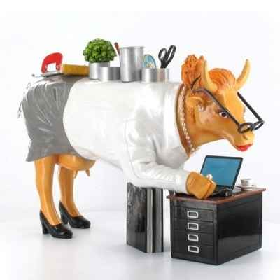Figurine Vache simply the best 32cm Art in the City 80651
