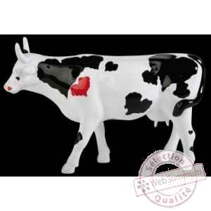 Figurine Vache sweetheart 15cm Art in the City 80829