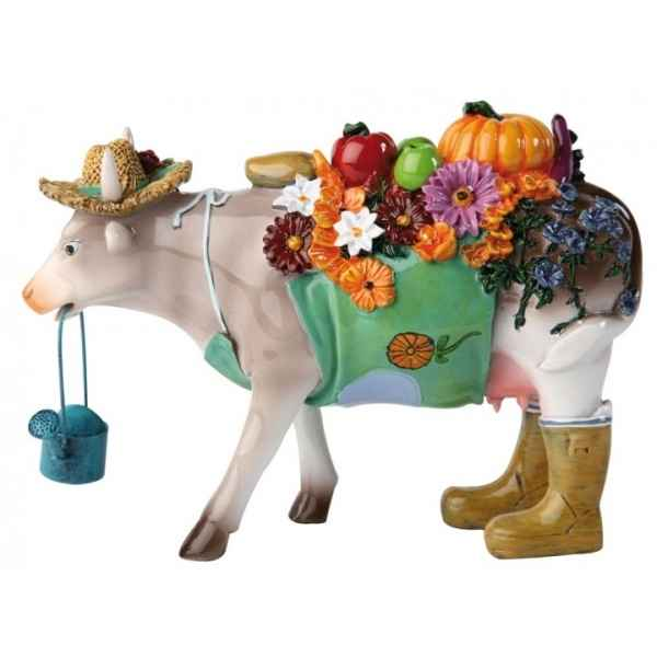 Figurine Vache the gardener 15cm Art in the City 80824