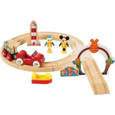 circuit mickey va a la peche jouet brio 000 de figurines bullyland disney pixar. Black Bedroom Furniture Sets. Home Design Ideas