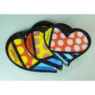 Assiette hearts Britto Romero -B334031