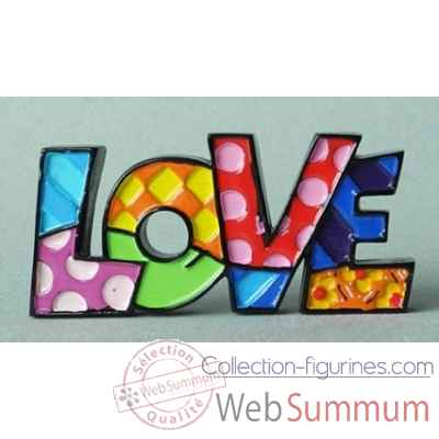 Britto mini word love Britto Romero -B333287