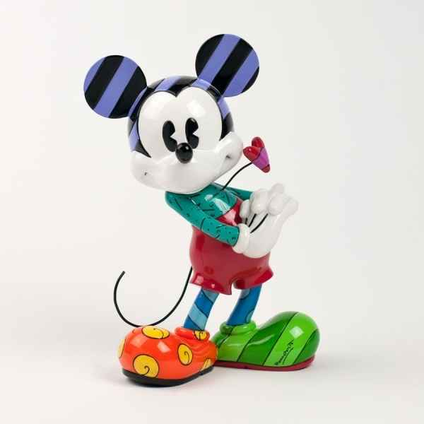 Disney Britto Romero Mickey with heart figurine -4030813