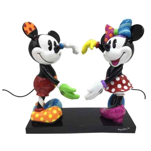 Figurine disney by britto mickey and minnie mouse figurine Britto Romero -4055228