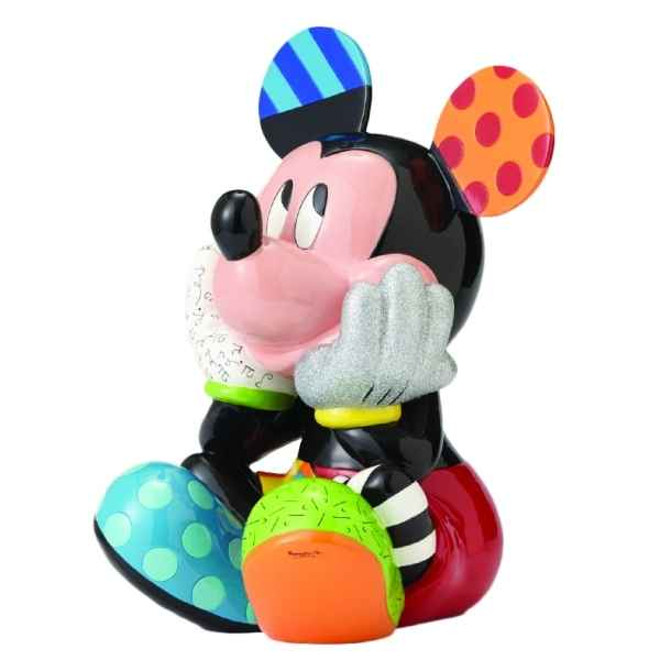 Figurine disney by britto mickey mouse big figurine (1000) Britto Romero -4057040