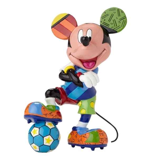 Figurine disney by britto mickey mouse football Britto Romero -4052558