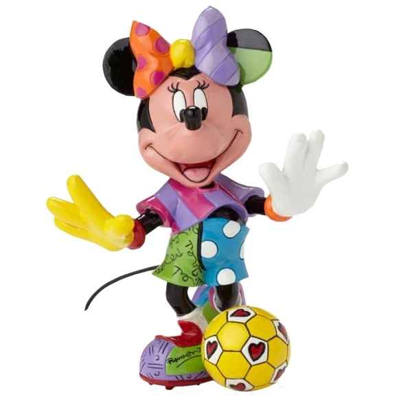 Figurine disney by britto minnie mouse football Britto Romero -4052559