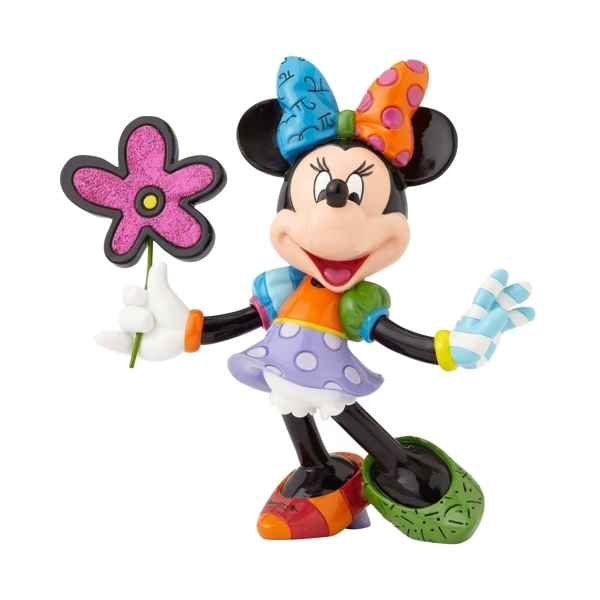 Figurine disney by britto minnie mouse with flowers figurines Britto Romero -4058181