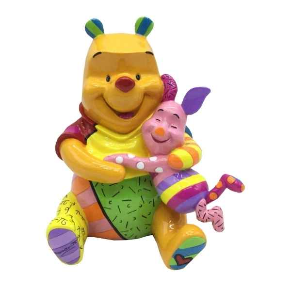 Figurine disney by britto winnie the pooh & piglet figurine Britto Romero -4055231