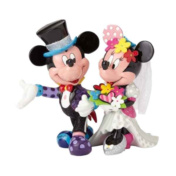 Figurine mickey and minnie se marrient Britto Romero -4058179