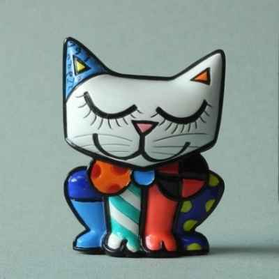 Mini figurine chat britto romero -b334123