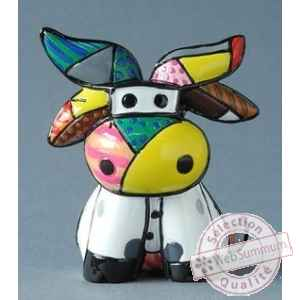 Mini figurine cow Britto Romero -B331842