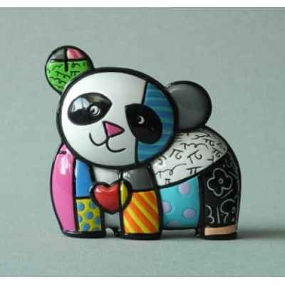 Mini figurine panda britto romero -b334119