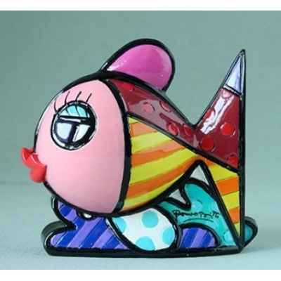 Mini figurine poisson britto romero -b334448