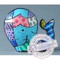 Mini figurine whale Britto Romero -B331844