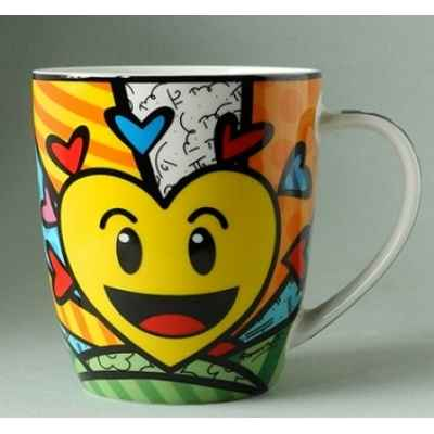 Mug emotions hearts britto romero -b334435