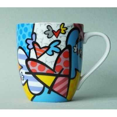 Mug flying heart britto romero -b334160