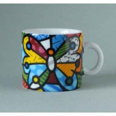 Mug mini butterfly Britto Romero -B333332