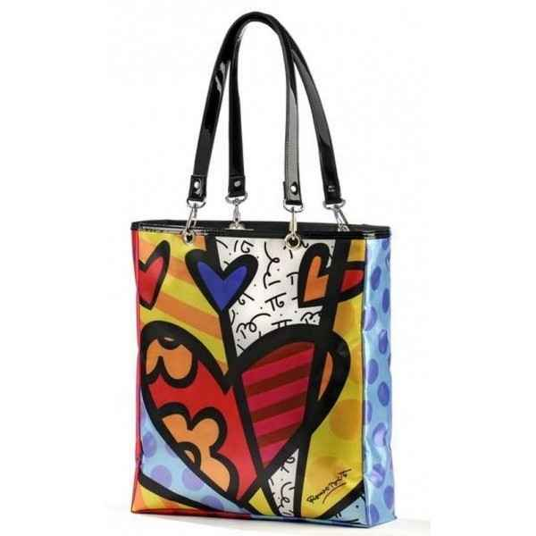Satin tote bag Britto Romero -B331401
