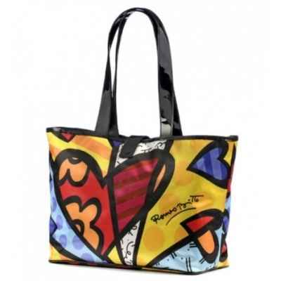 Satin tote bag Britto Romero -B331404