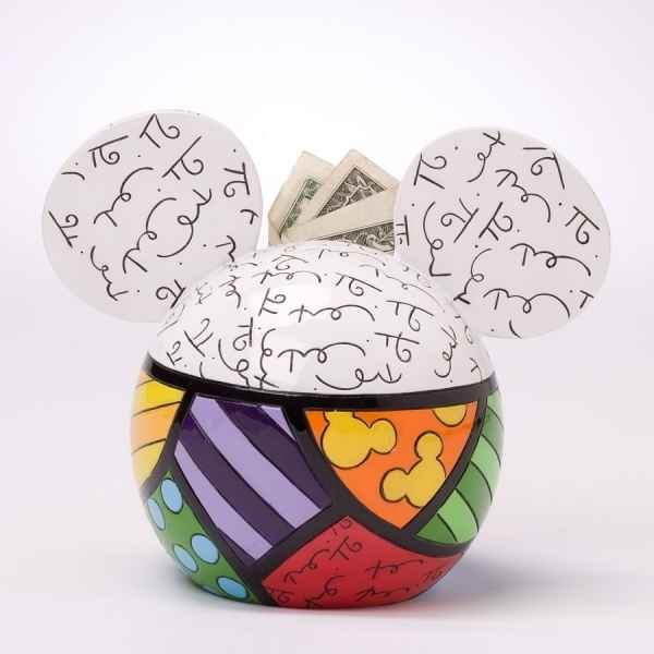 Tirelire mickey mouse figurine britto roméro disney Britto Romero -4025535