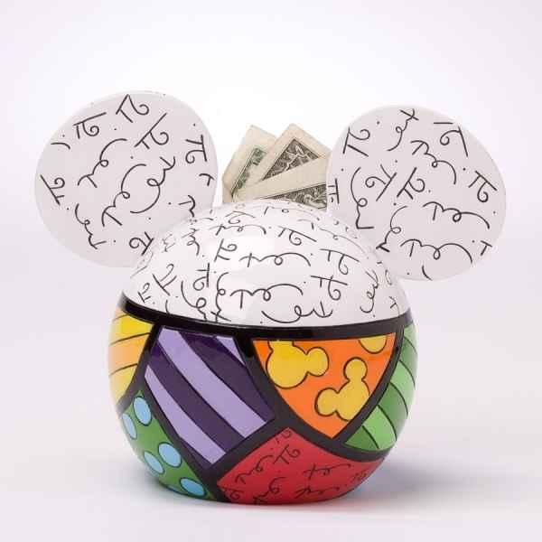 tirelire mickey mouse figurine britto rom ro disney 4025535 dans tirelire figurines. Black Bedroom Furniture Sets. Home Design Ideas