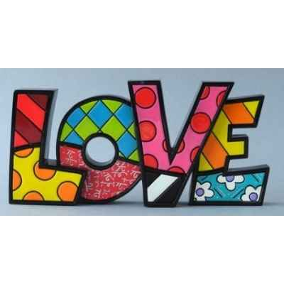 Statuette Word love Britto Romero -B331483