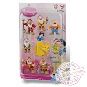 Blanche neige et les sept nains pack 8 figurines 8 cm Bullyland -bula12103