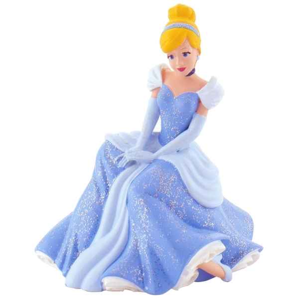 Cendrillon assise princesses - disney Bullyland -B12830