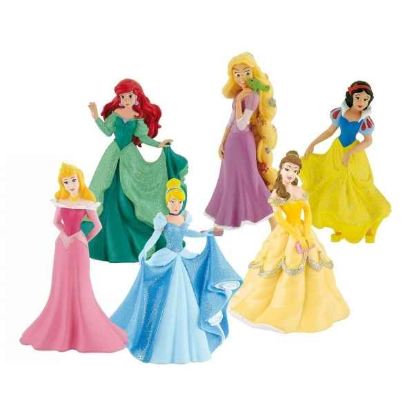 Coffret princesses disney - 6 pcs Bullyland -B13362