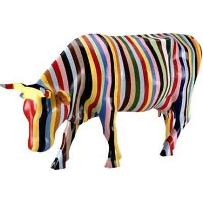 Cow Parade -New York 2000, Artiste Cary Smith -Striped-41255