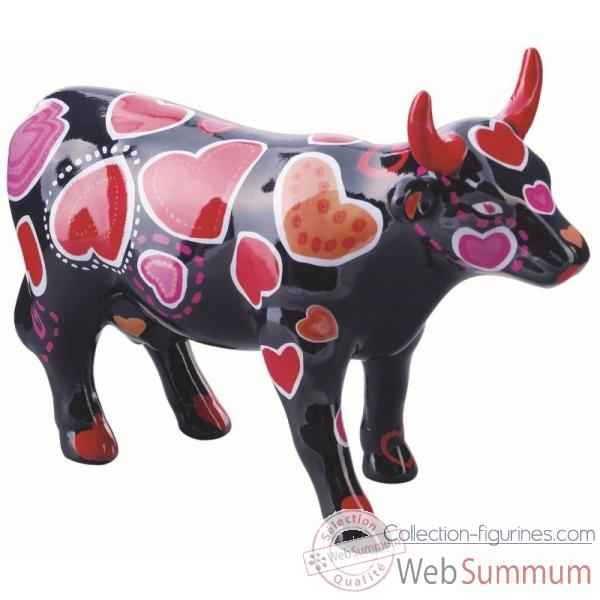 Cow parade -edinburgh 2006, artiste andrew forsyth - coo-ween of hearts-47390