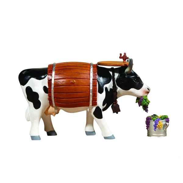 Figurine vache medium clarabelle the wine cow CowParade -MR47905