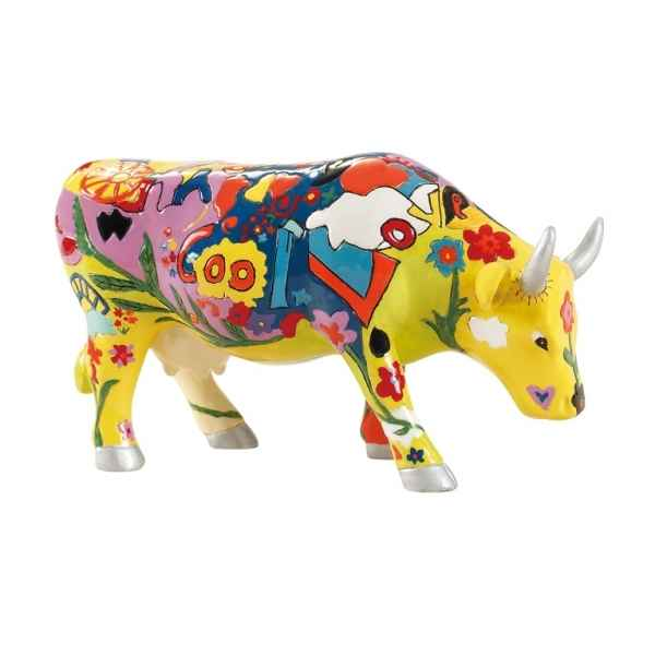 Vache cowparade resine groovy moo mmr47842