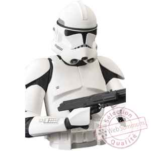 Star wars tirelire pvc clone trooper 18 cm Diamond Select -diam70242