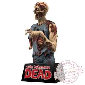 The walking dead tirelire vinyle zombie 20 cm Diamond Select -DIAM17861