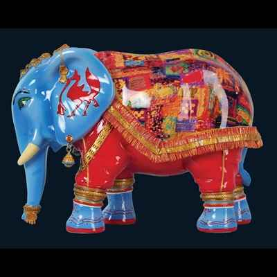 Elephant India Art in the City - 83306