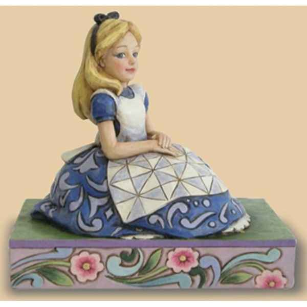 Awaiting an adventure (alice in wonderland)  Figurines Disney Collection -4023527