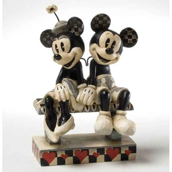 Date night (mickey & minnie mouse)  Figurines Disney Collection -4023571