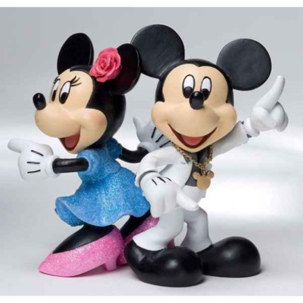 Disco (mickey & minnie)  Figurines Disney Collection -4022356
