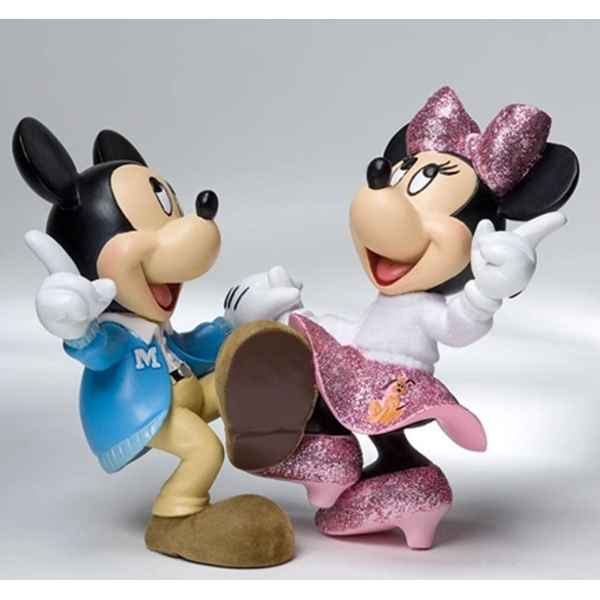 Jitterbug (mickey & minnie)  Figurines Disney Collection -4022355