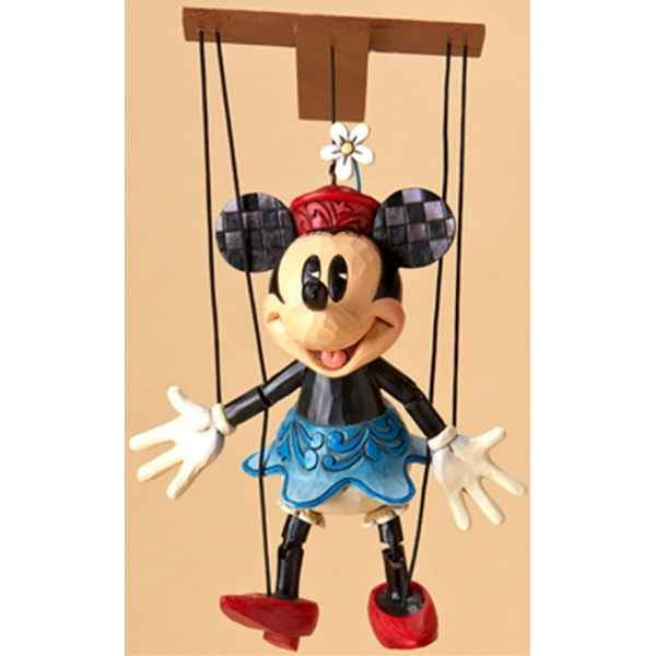 Minnie marionette (minnie mouse)  Figurines Disney Collection -4023577