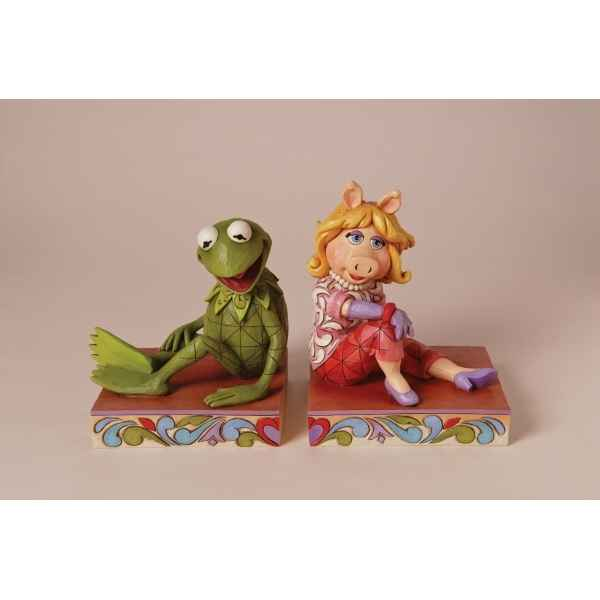 Miss piggy & kermit the frog bookends n Figurines Disney Collection Muppet Show -4026093